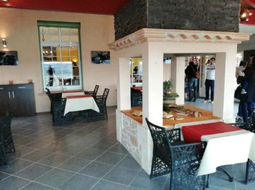 Vue intérieur restaurant Les Balcons de l'Espérance